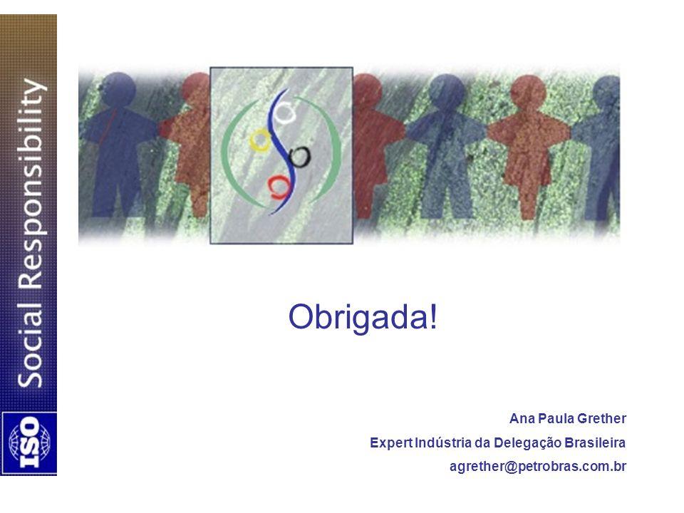 Obrigada! Ana Paula Grether Expert Indústria da Delegação Brasileira agrether@petrobras.com.br