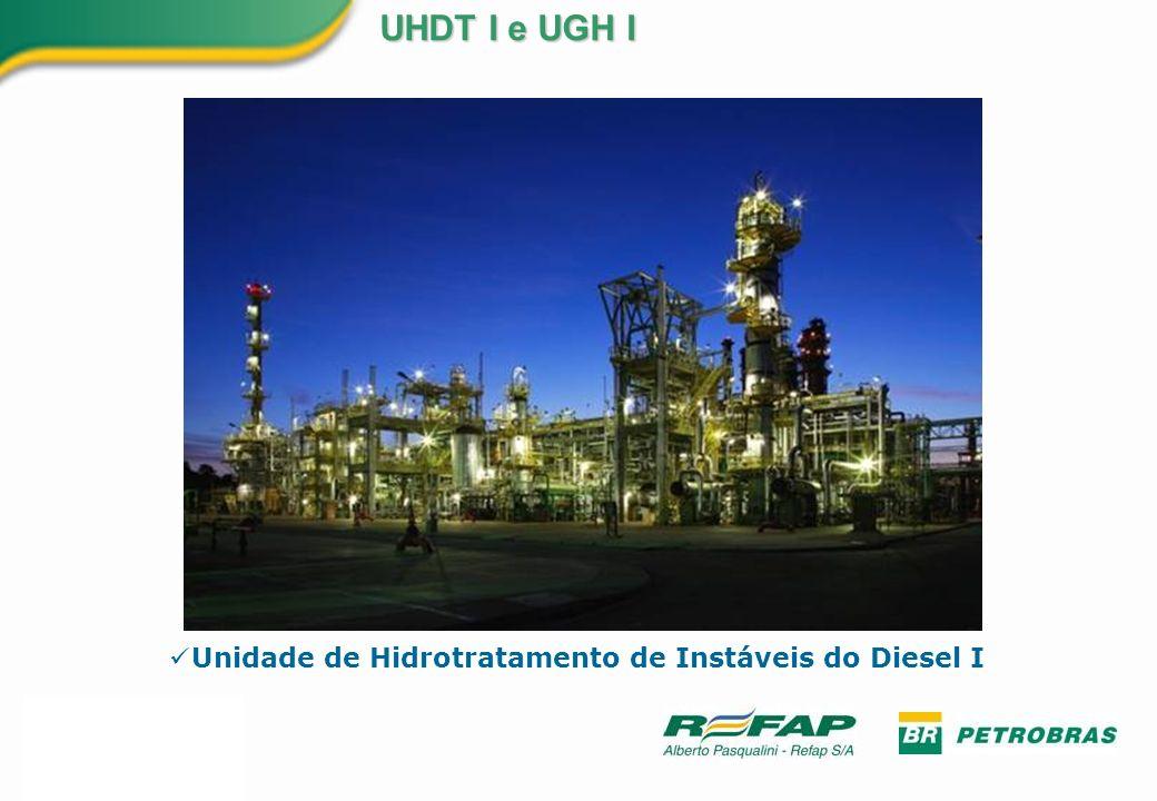 Unidade de Hidrotratamento de Instáveis do Diesel I UHDT I e UGH I