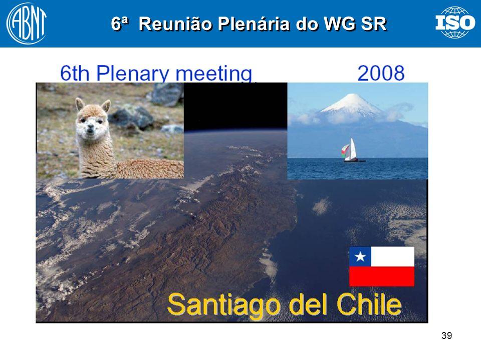 39 6ª Reunião Plenária do WG SR