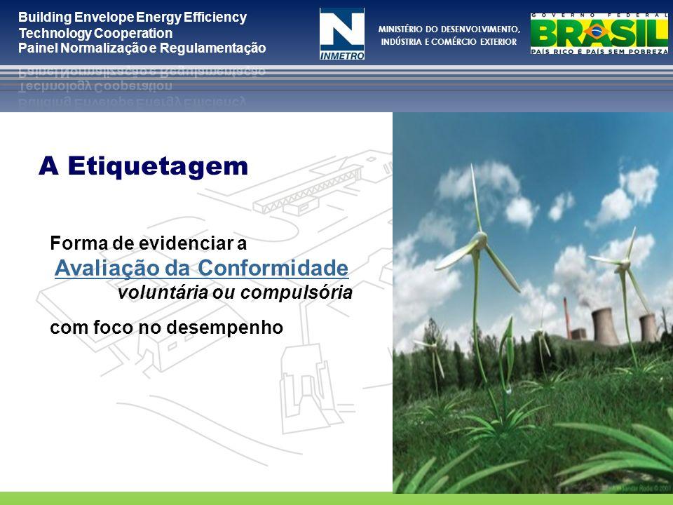 MINISTÉRIO DO DESENVOLVIMENTO, INDÚSTRIA E COMÉRCIO EXTERIOR O PBE é um programa de etiquetagem de desempenho coordenado pelo Inmetro.