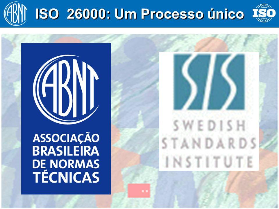 15 ISO 26000: Um Processo único