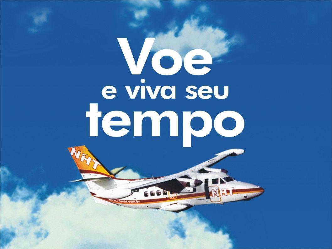 É fácil voar NHT Os bilhetes estão ao alcance de todos: Internet (www.voenht.com.br)www.voenht.com.br Central de Atendimento (0300 143.4343) Agências de viagens Lojas NHT nos aeroportos