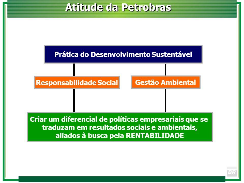 Ao disponibilizar aos brasileiros os recursos energéticos indispensáveis à sua autonomia e desenvolvimento, a Petrobras se sente orgulhosa de estar participando de uma nova etapa na história do País.