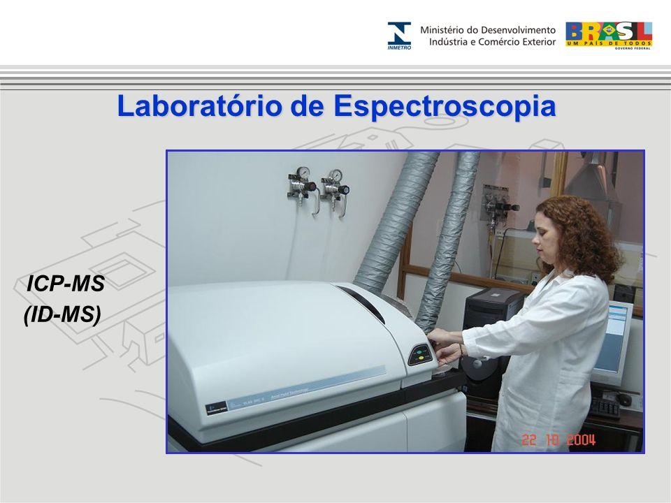 ICP-MS (ID-MS) Laboratório de Espectroscopia