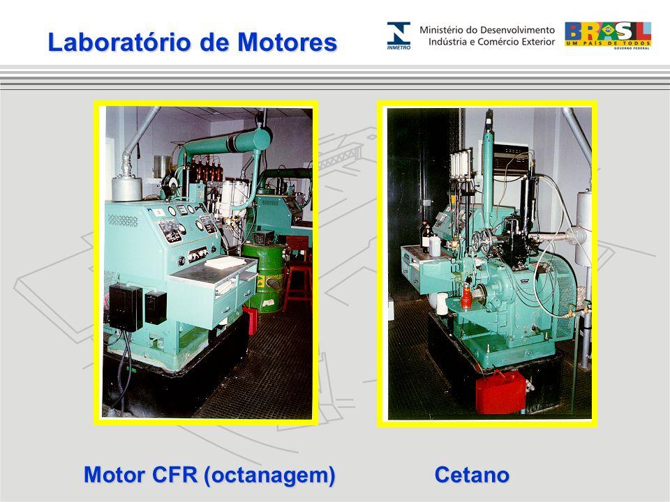 Motor CFR (octanagem) Cetano Laboratório de Motores