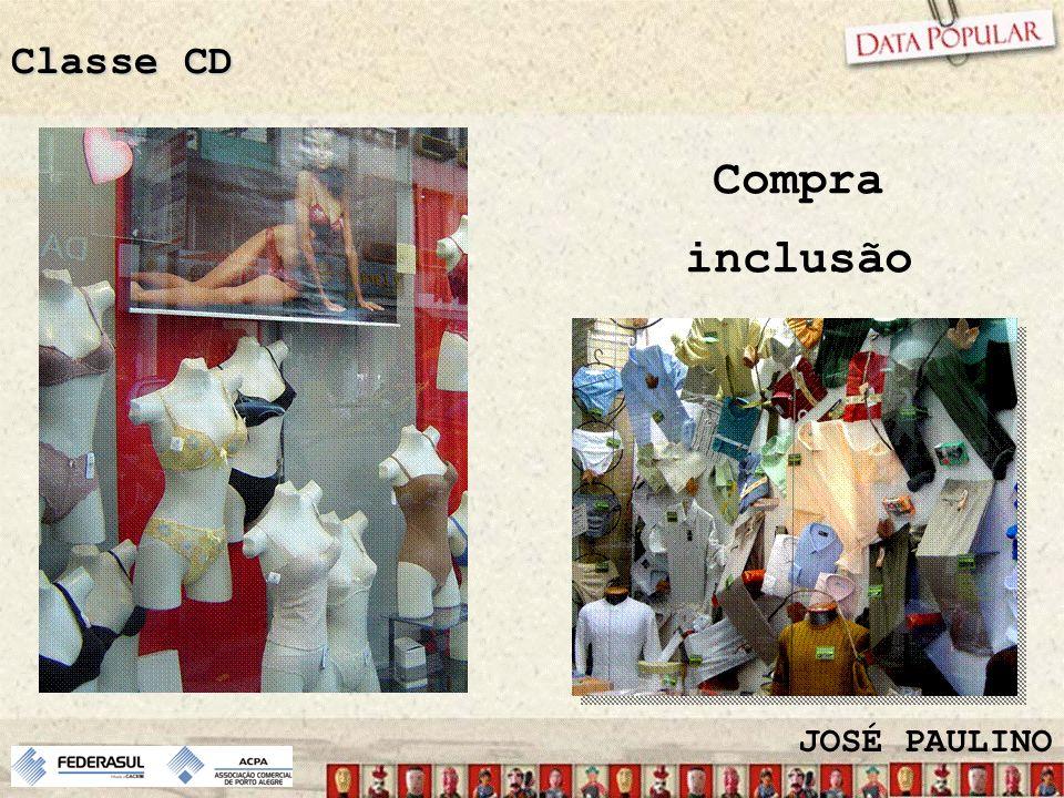 Classe CD Compra inclusão JOSÉ PAULINO