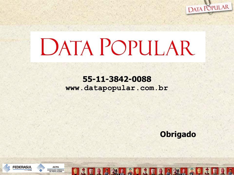 55-11-3842-0088 www.datapopular.com.br Obrigado