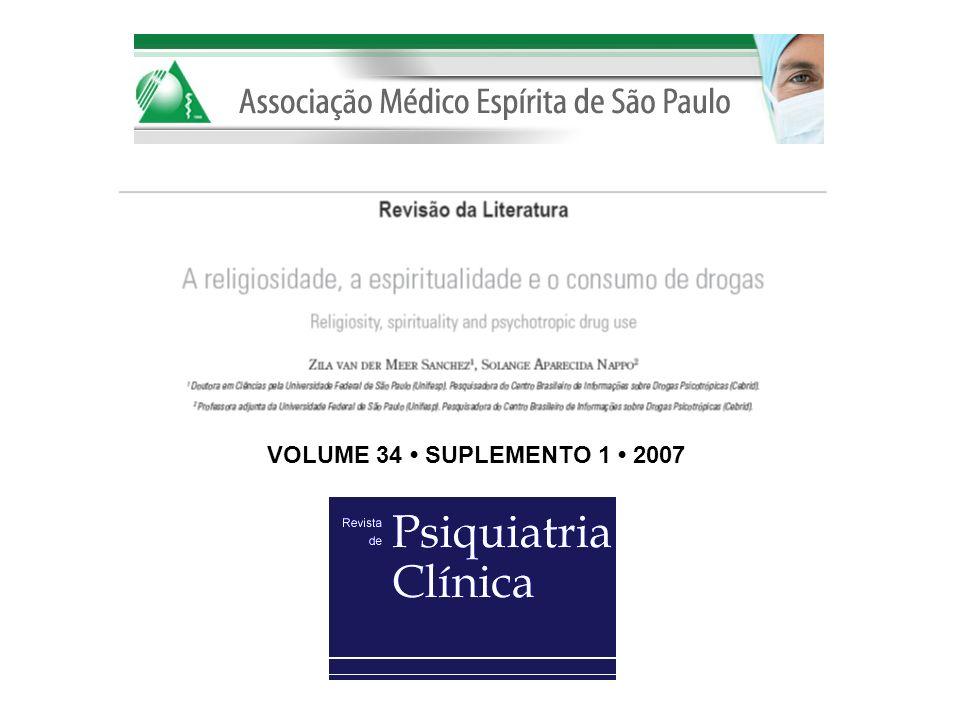 VOLUME 34 SUPLEMENTO 1 2007