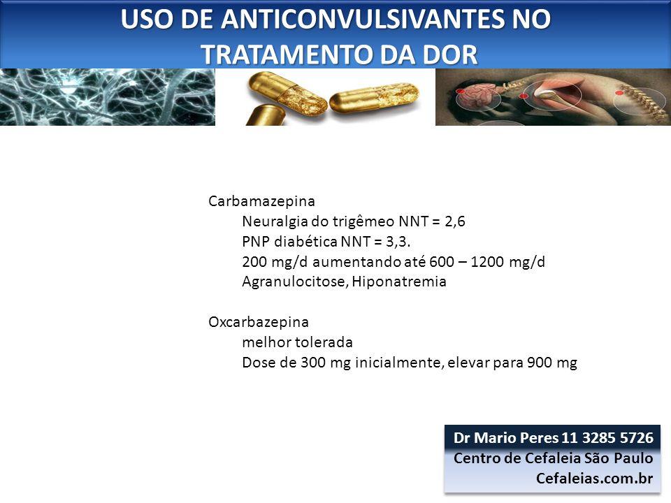 USO DE ANTICONVULSIVANTES NO TRATAMENTO DA DOR TRATAMENTO DA DOR USO DE ANTICONVULSIVANTES NO TRATAMENTO DA DOR TRATAMENTO DA DOR Carbamazepina Neural