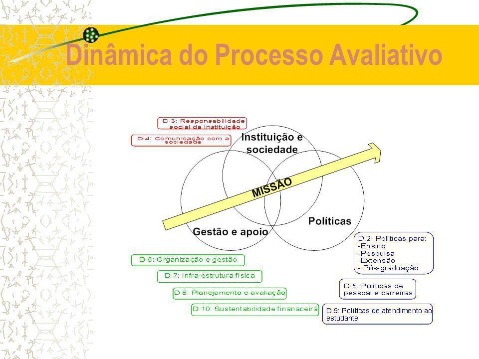 Dinâmica do Processo Avaliativo