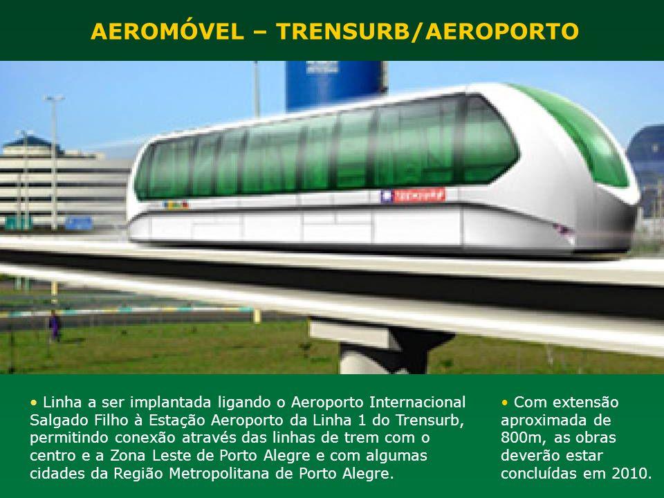 Linha a ser implantada ligando o Aeroporto Internacional Salgado Filho à Estação Aeroporto da Linha 1 do Trensurb, permitindo conexão através das linh