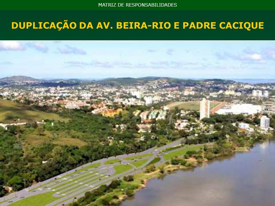 NA MATRIZ DE ESPONSABILIDADES: BRT Protásio Alves R$ 55,7 milhões BRT Assis Brasil R$ 29,4 milhões BRT Bento Gonçalves R$ 24,2 milhões BRTs MATRIZ DE RESPONSABILIDADES Modelo de transporte sobre pneus, rápido, flexível, de alto desempenho, que combina uma série de elementos físicos e operacionais em um sistema integrado.