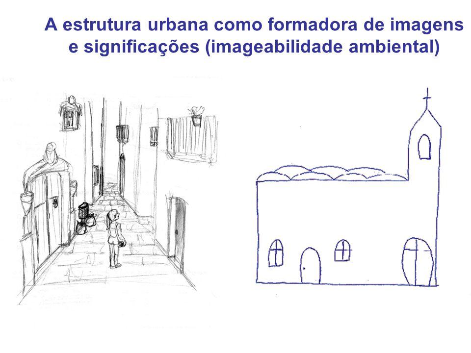 A estrutura urbana como formadora de imagens e significações (imageabilidade ambiental)