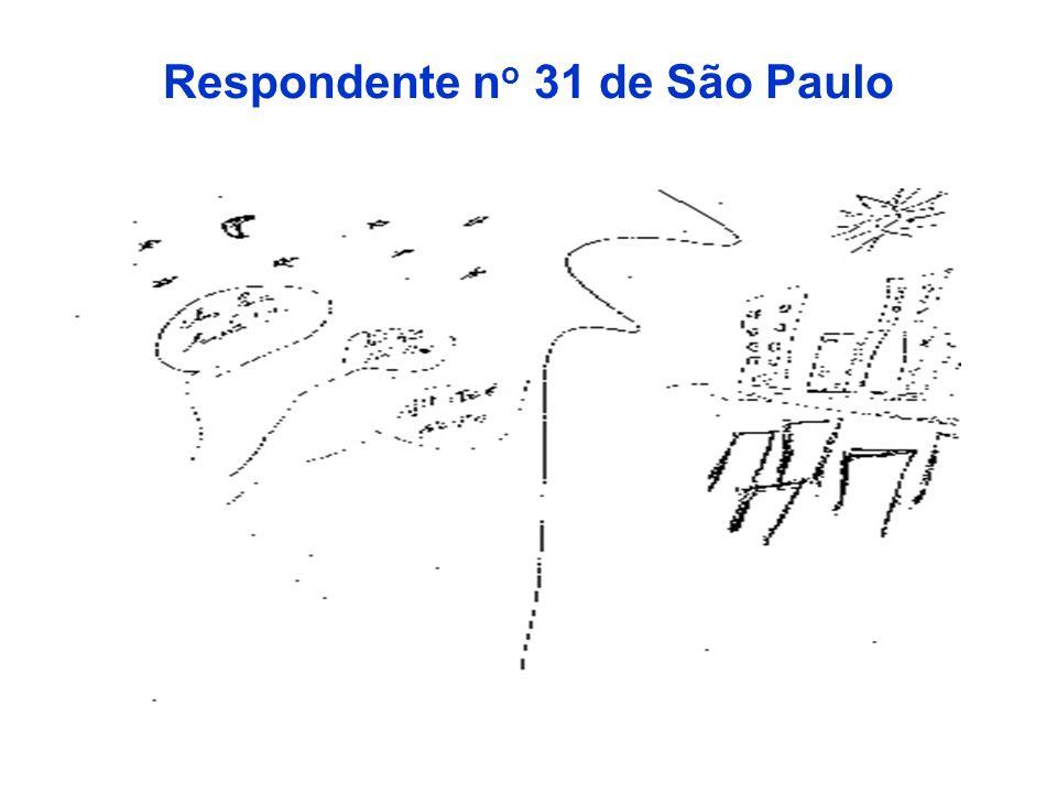 Respondente n o 31 de São Paulo