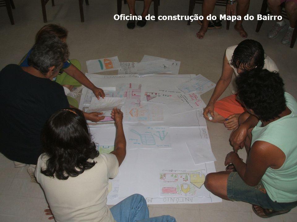 Oficina de construção do Mapa do Bairro