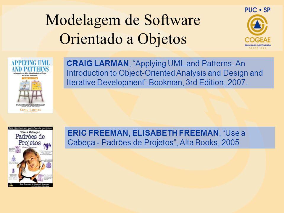 Modelagem de Software Orientado a Objetos Princípios de Orientação a Objetos Orientação a objetos Une dados e os processos de fluxo de dados nos primeiros momentos do ciclo de vida de desenvolvimento.