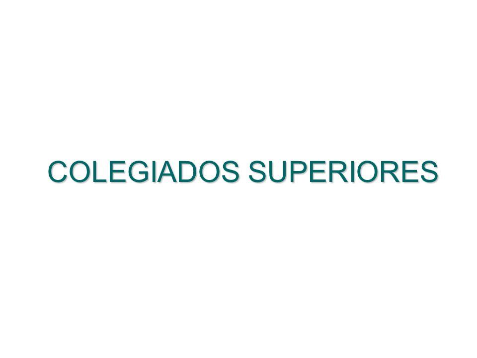 COLEGIADOS SUPERIORES