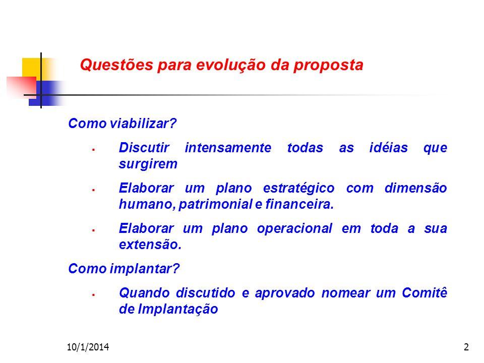 10/1/20142 Como viabilizar.