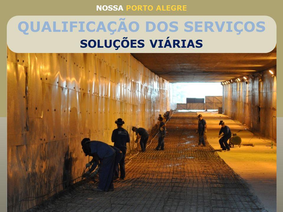 NOSSA PORTO ALEGRE Intervenção urgente para segurança dos usuários Primeira grande reforma após 38 anos de funcionamento do túnel Reforma para durar m