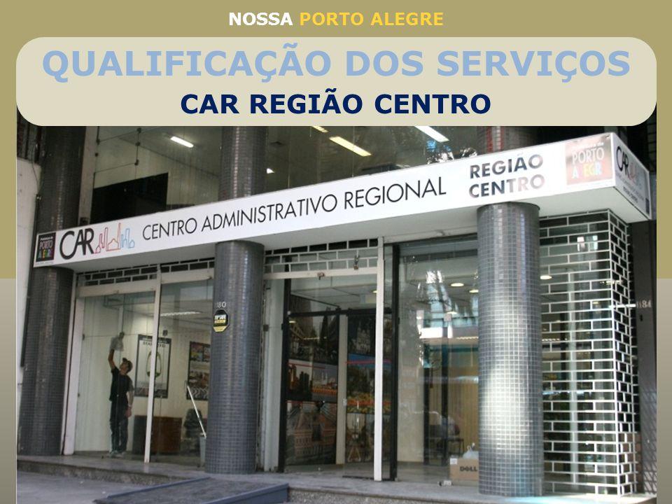 Nova estrutura para atendimento aos cidadãos no Centro Histórico e mais 17 bairros da região administrativa do Centro Melhoria no atendimento e qualif