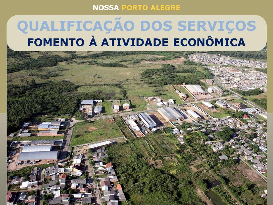 Ampliação do Parque Industrial da Restinga: melhoria na infraestrutura e mais 23 novos lotes Alvará na Hora: emissão de mais de 15 mil alvarás por ano