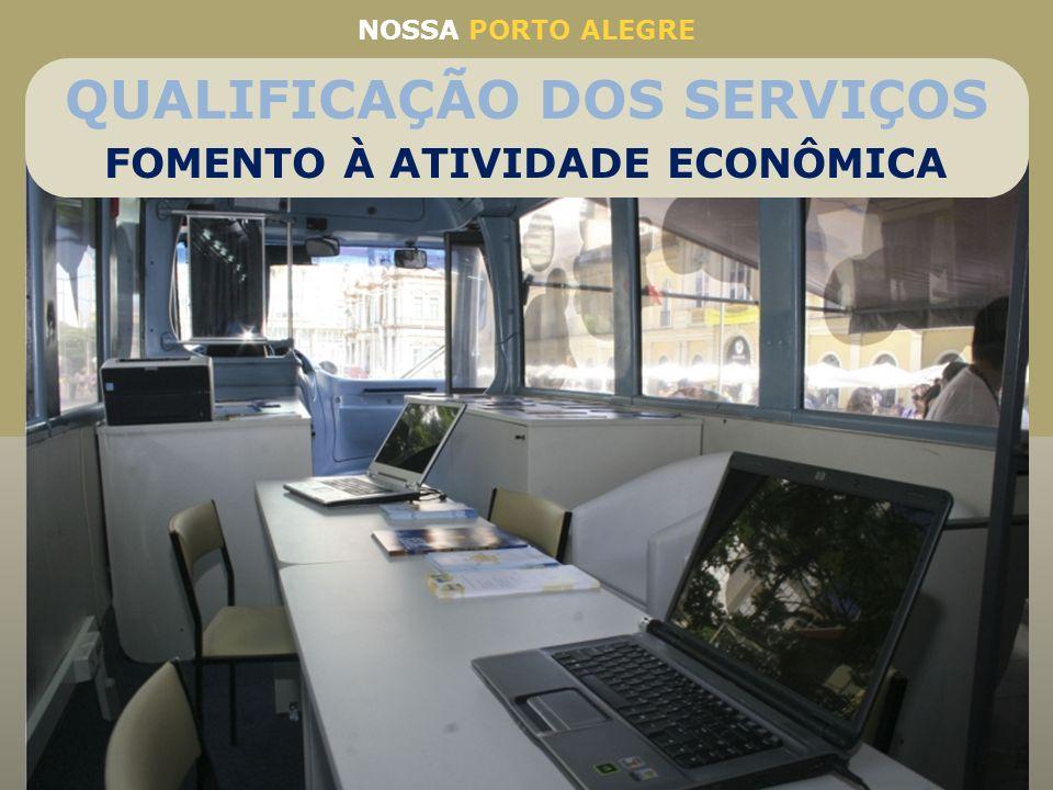 Parceria da SMIC, Carris e Sebrae Percorrerá, a partir de abril, 37 bairros da Capital levando o empreendedorismo onde o cliente estiver O ônibus terá