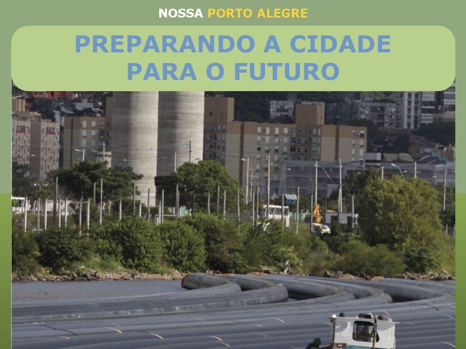 Maior obra de saneamento em execução no Brasil Investimento de R$ 586,7 milhões Vai ampliar a capacidade de tratamento de esgotos de 27% para 77%, sup