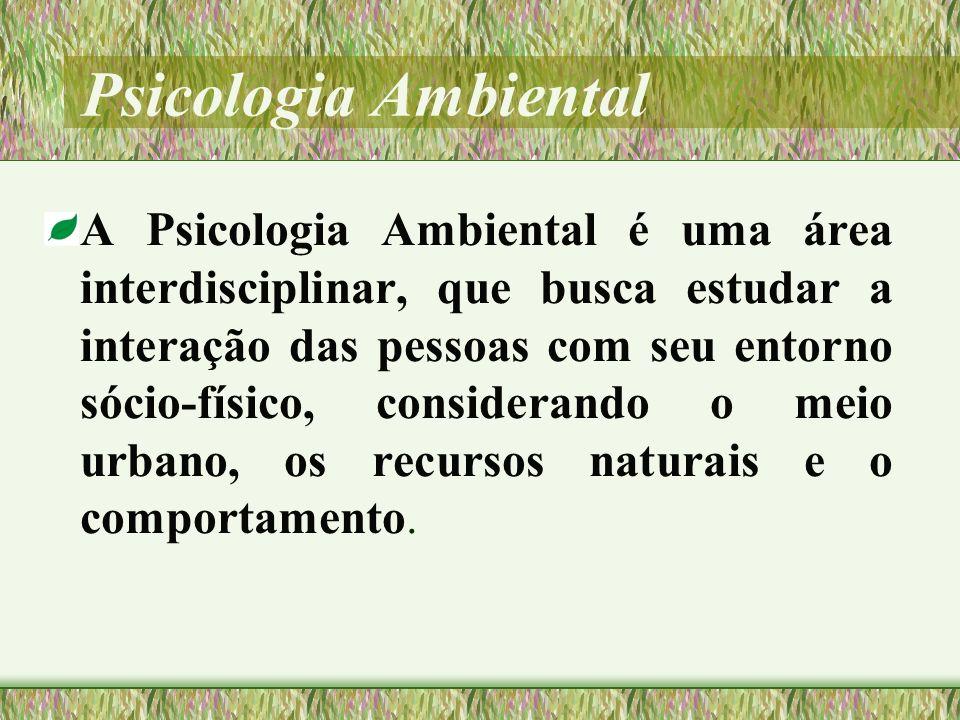 CONSTRUÇÃO DO SIGNIFICADO ESPACIAL A atribuição de significados ao ambiente corresponde a um conjunto de conteúdos que permite o sujeito compreender o que é para ele um lugar, O ambiente é um território emocional (CORRALIZA,1998, p.