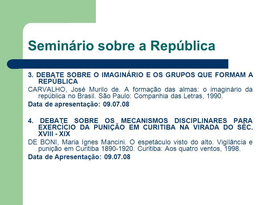 Seminário sobre a República 3.