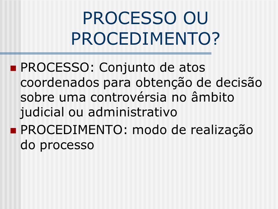 PAF como processo Art 5o., LV Art.5o., LXXII Art.