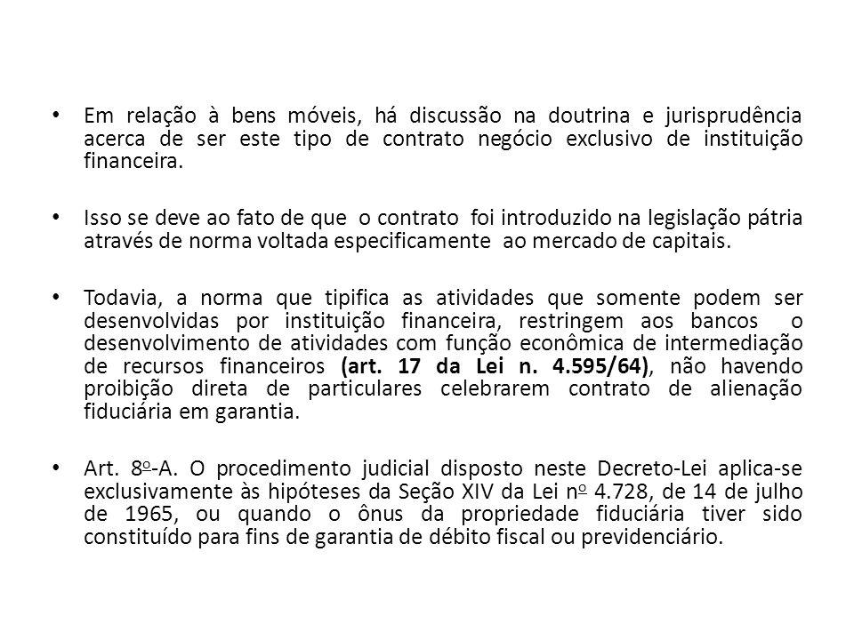 Aspectos Processuais da Alienação Fiduciária em Garantia do Dec.
