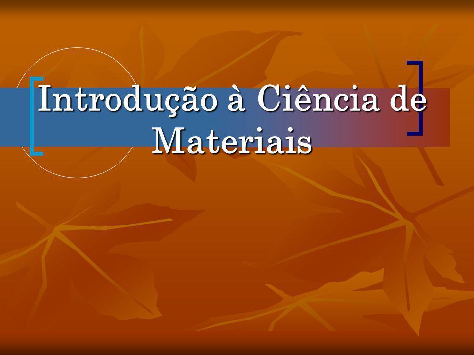 Introdução à Ciência de Materiais