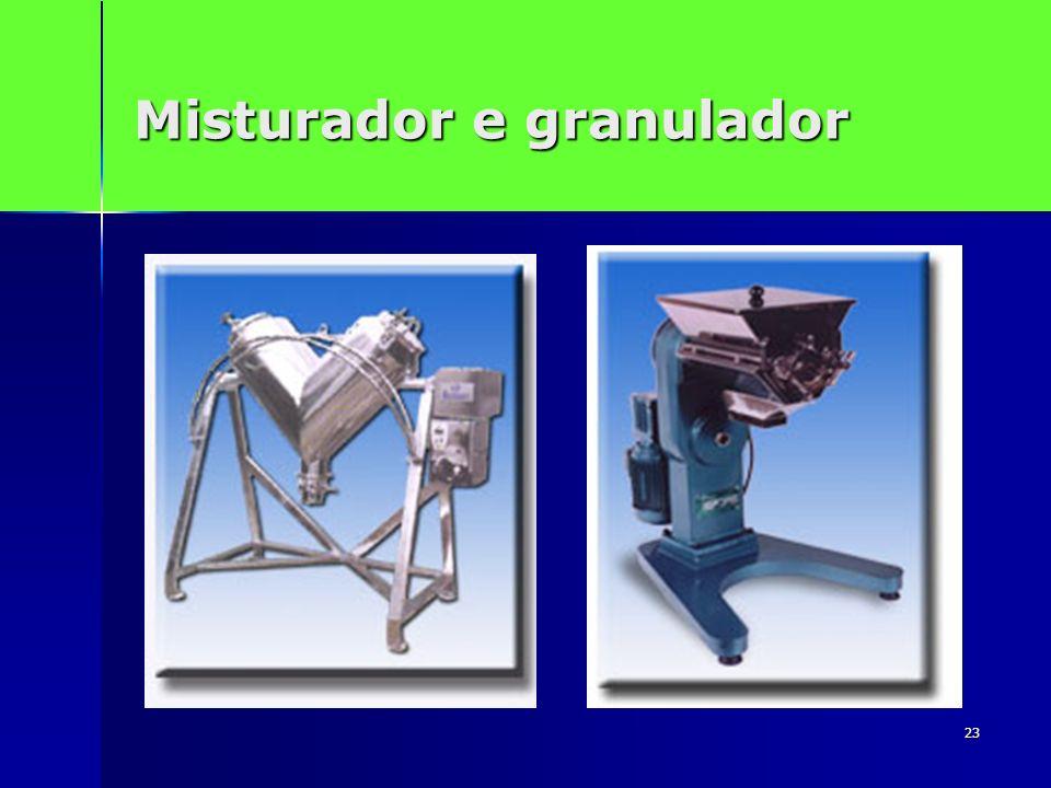 23 Misturador e granulador