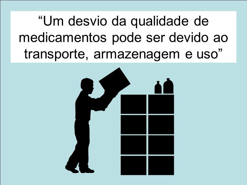 12 www.anvisa.gov.br Gerência de Farmacovigilância/Nuvig Agência Nacional de Vigilância Sanitária Um desvio da qualidade de medicamentos pode ser devi