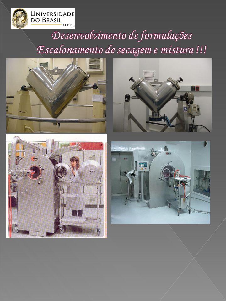 Exemplo 2: microgrânulos : 1- granular com dynasan 114 e diclofenaco 100 mg e 100 mg com CMC Na 0,2%; 2- secar em leito fluidizado a 55 o C;; 3- separar o pó maior que 200 micra; 4- levar à turbina; 5- água por 20 minutos; 6- aplicar o pó de 3; 6- secar na turbina; 7- revestir com eudragite RL e RS 30D; 8- completar com neutros para completar a cápsula.
