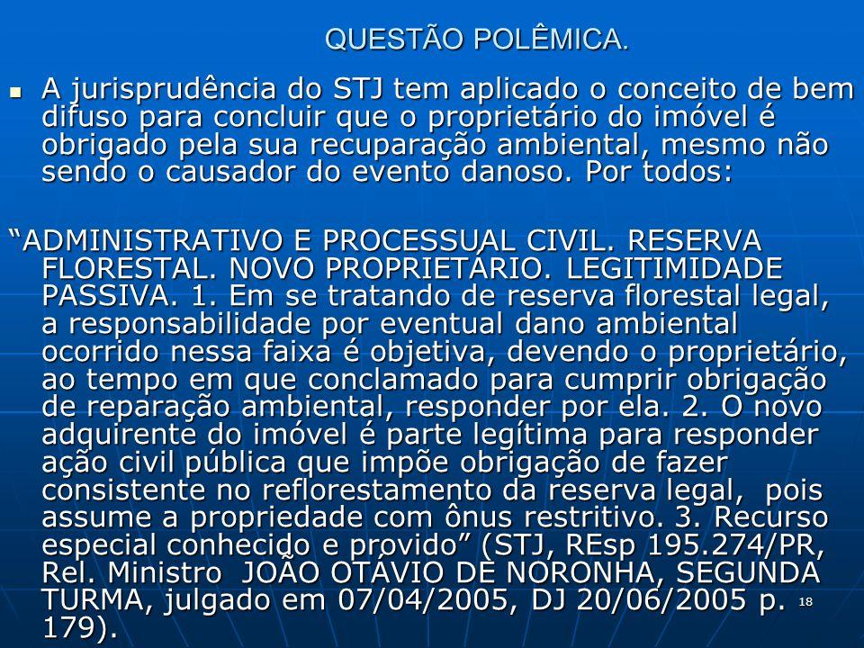 18 QUESTÃO POLÊMICA.