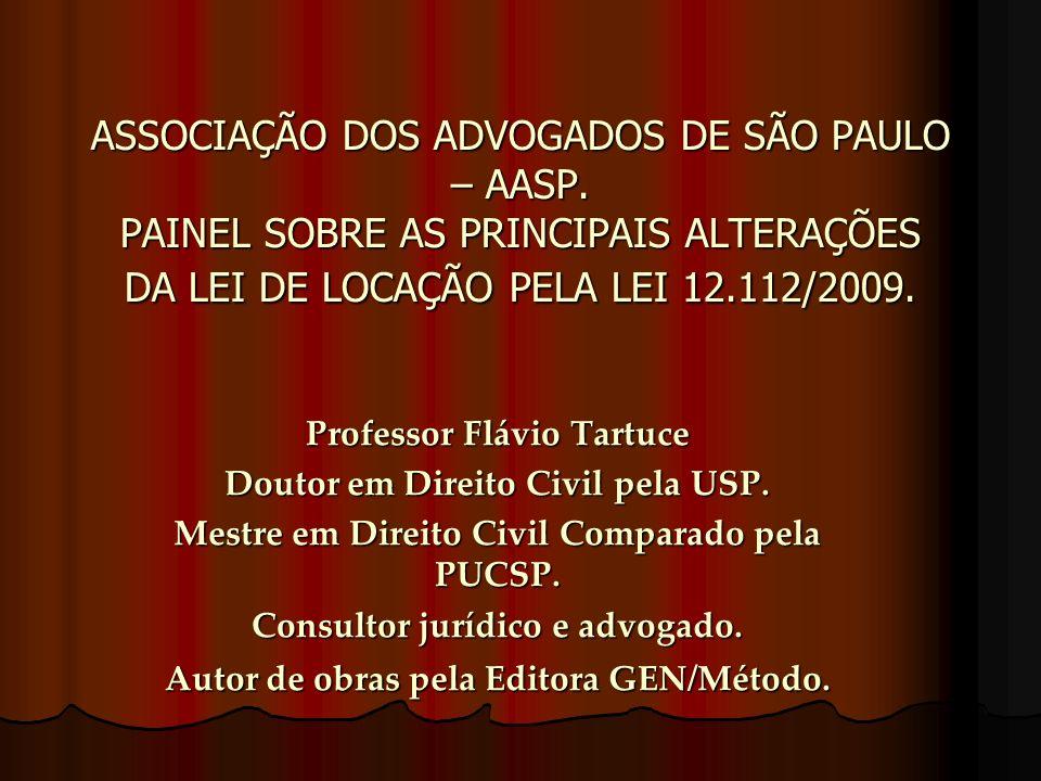 ASSOCIAÇÃO DOS ADVOGADOS DE SÃO PAULO – AASP.