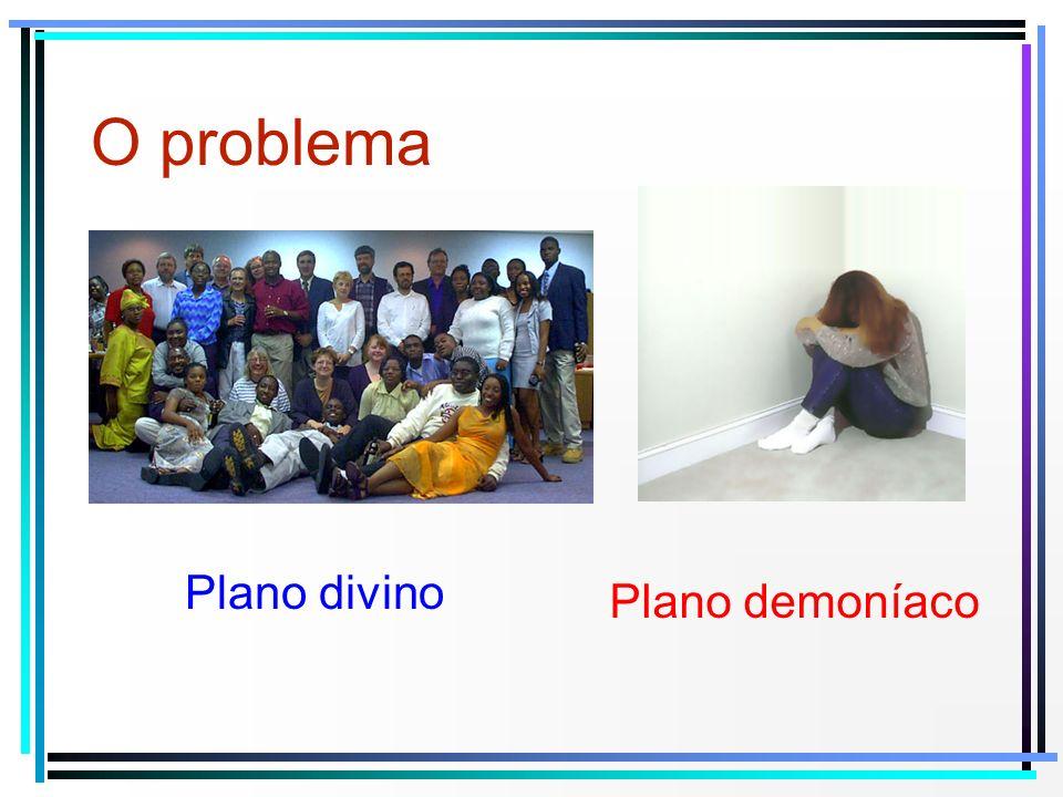Plano divino Plano demoníaco O problema