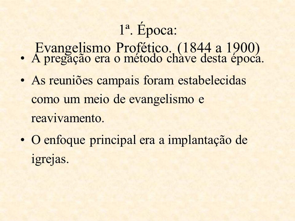 Como tem se desenvolvido o evangelismo na Igreja Adventista?