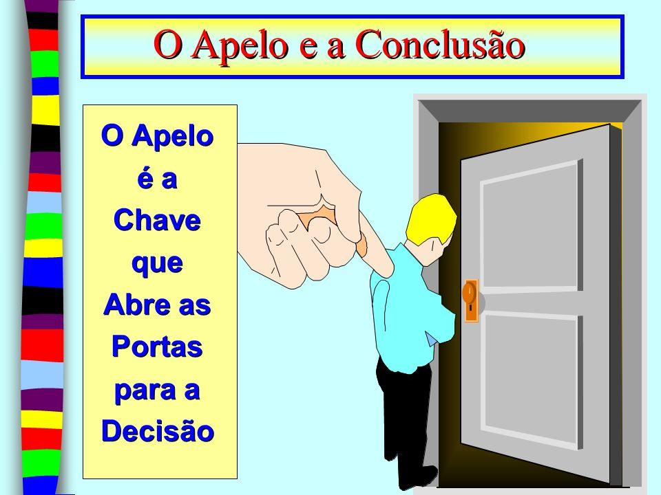 15 O Apelo é a Chave que Abre as Portas para a Decisão O Apelo e a Conclusão