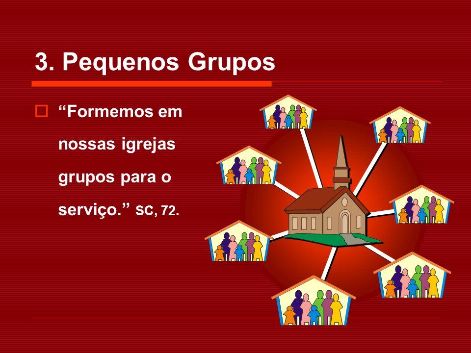 Haja em cada igreja grupos bem organizados de obreiros para trabalhar nas vizinhanças da igreja...