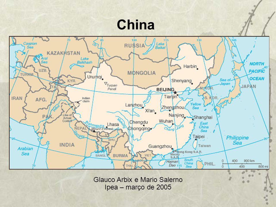 China Glauco Arbix e Mario Salerno Ipea – março de 2005