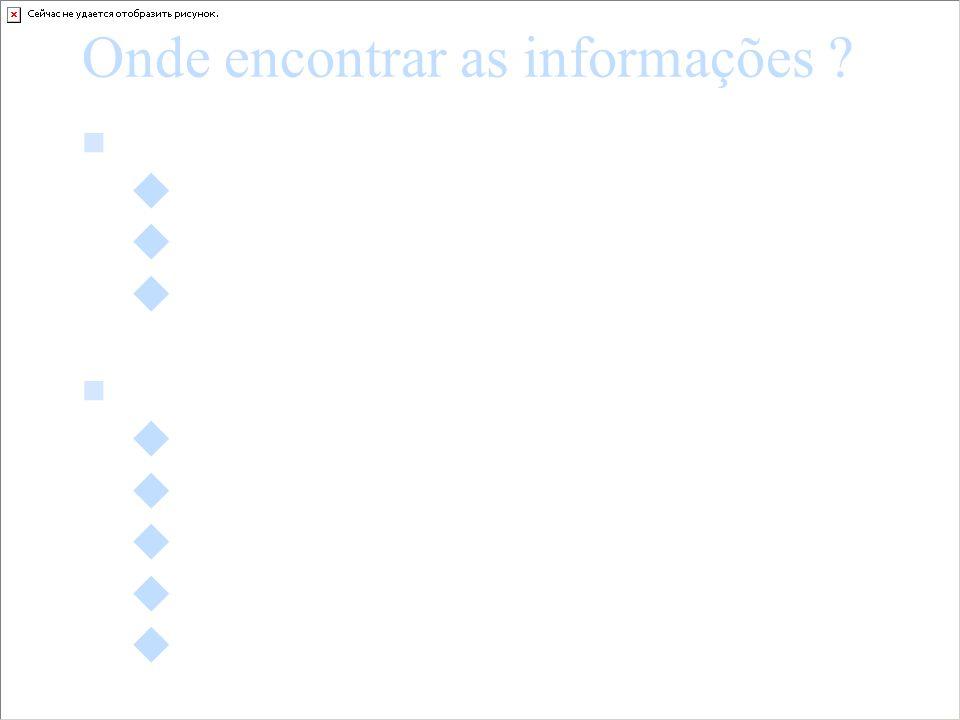 Onde encontrar as informações ? Dados quantitativos exploração de arquivos estatísticos informações administrativas pesquisa por sondagem (questionári