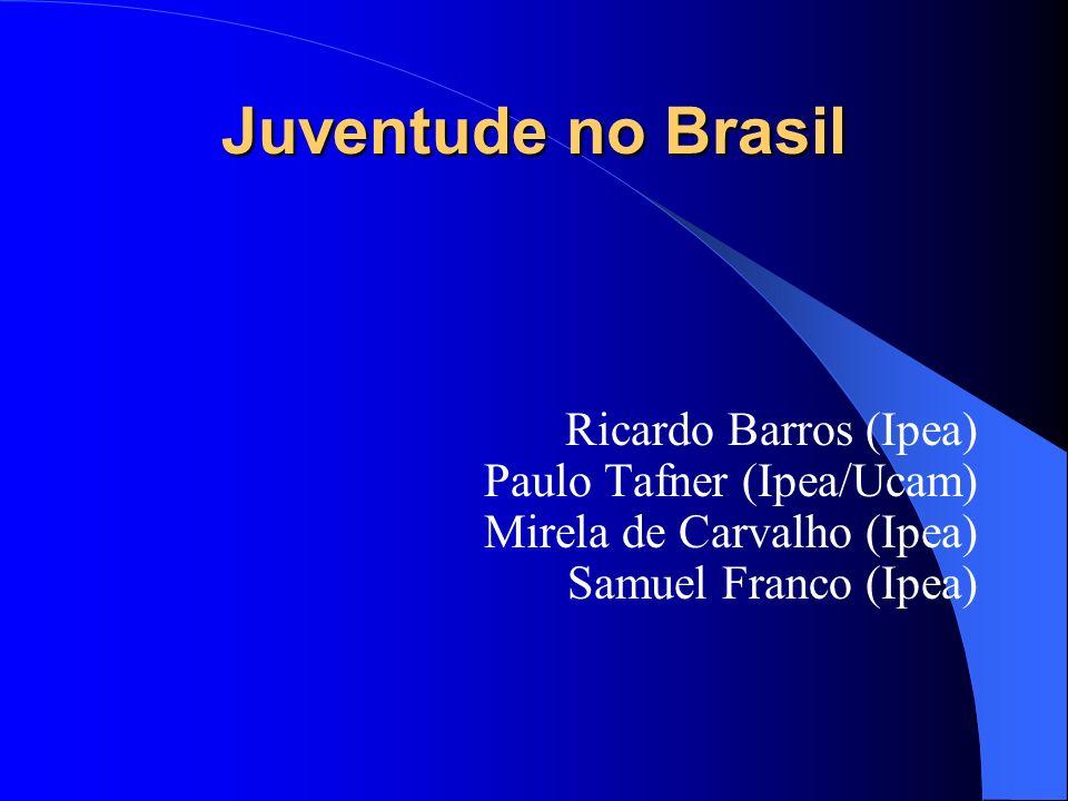 Juventude no Brasil Ricardo Barros (Ipea) Paulo Tafner (Ipea/Ucam) Mirela de Carvalho (Ipea) Samuel Franco (Ipea)