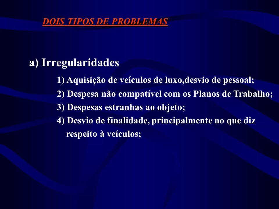 DOIS TIPOS DE PROBLEMAS a) Ordem Técnica 1) Dificuldades no monitoramento entomológico e e na execução das operações de combate; 2) Coleta, registro,