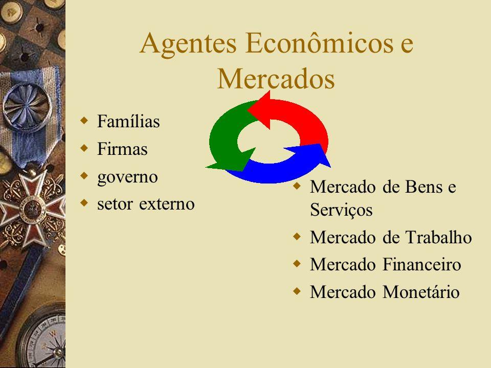 Consumo e Investimento Os bens finais produzidos podem ter dois fins: – a- o atendimento das necessidades das famílias de bens e serviços; (isto é o c