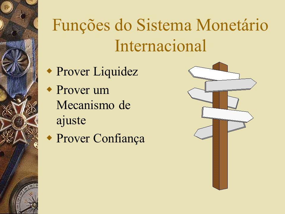 O Sistema Monetário Internacional O Sistema Monetário Internacional é o conjunto de regras e convenções, consuetudinárias ou produto de tratados inter