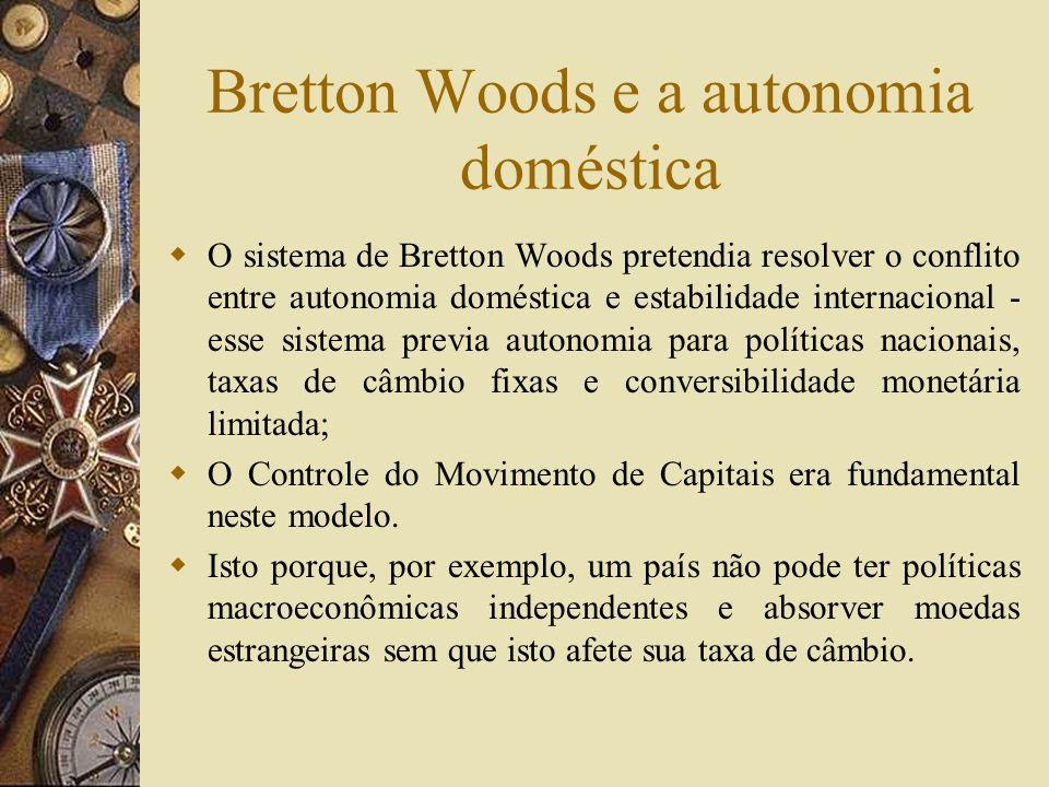 Instituições de Bretton Woods FMI BIRD (Banco Mundial)