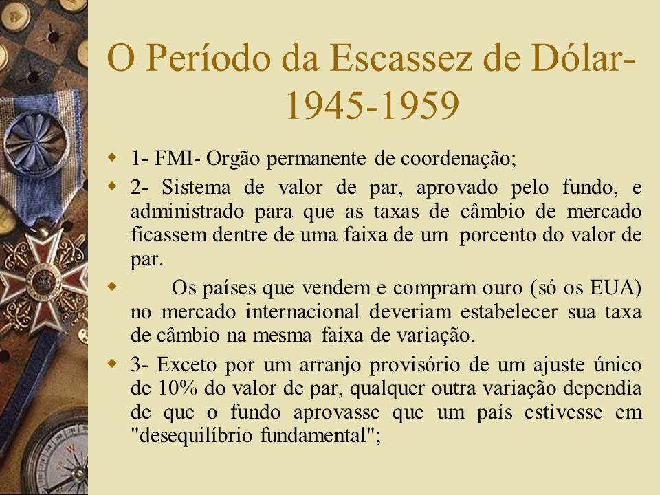 Razões para a Incompatibilidade da Ordem Liberal com o Estado de Bem- Estar Social - II 3- O aparelho regulatório do sistema financeiro construído em