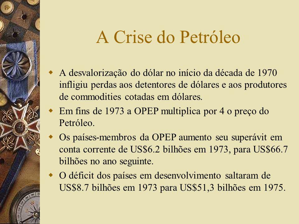 A Ordem Financeira Internacional Pós- Bretton Woods Em Janeiro de 1976, em reunião realizada em Kingston, Jamaica, o FMI alterou seus estatutos: o pre